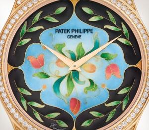 Patek Philippe تحف يدوية نادرة كود 5077/100R-045 الذهب الوردي - فني