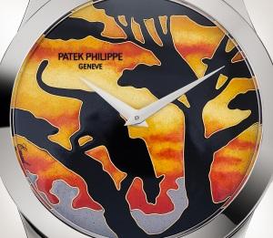 Patek Philippe تحف يدوية نادرة كود 5089G-078 الذهب الأبيض - فني