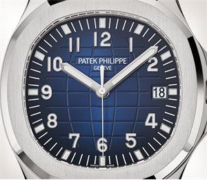 Patek Philippe Aquanaut كود 5168G-001 الذهب الأبيض - فني