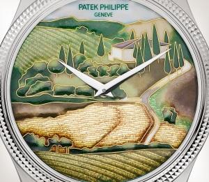 Patek Philippe Редкие ремесла Мод. 5177G-001 Белое золото - Aртистический