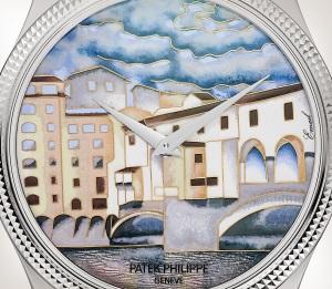 Patek Philippe 珍稀工艺 Ref. 5177G-011 白金款式 - 艺术的