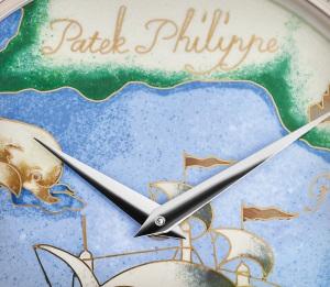 Patek Philippe 希少なハンドクラフト Ref. 5177G-012 ホワイトゴールド - 芸術的