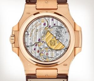 Patek Philippe Nautilus Ref. 5724R-001 玫瑰金款式 - 艺术的