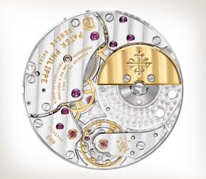 Patek Philippe تحف يدوية نادرة كود 5738/50G-012 الذهب الأبيض - فني