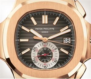Patek Philippe Nautilus Ref. 5980R-001 玫瑰金款式 - 艺术的