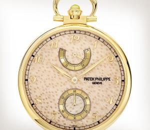 Patek Philippe تحف يدوية نادرة كود 982/185J-001 الذهب الأصفر - فني