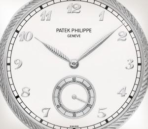 Patek Philippe 珍稀工艺 Ref. 992/124G-001 白金款式 - 艺术的