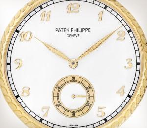 Patek Philippe تحف يدوية نادرة كود 992/140J-001 الذهب الأصفر - فني