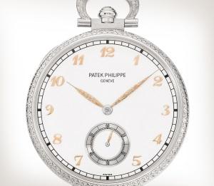 Patek Philippe تحف يدوية نادرة كود 995/111G-001 الذهب الأبيض - فني