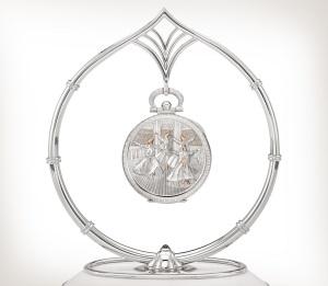 Patek Philippe 珍稀工艺 Ref. 995/111G-001 白金款式 - 艺术的