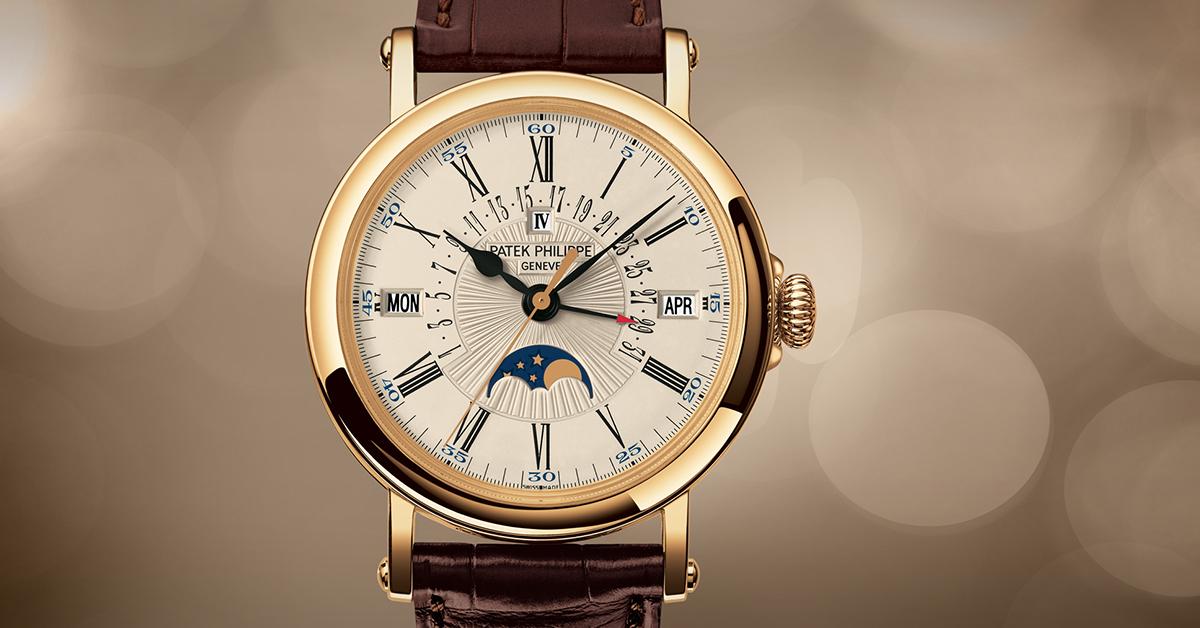 Patek Philippe | Gran Complicación de oro amarillo con Calendario Perpetuo  5159J-001