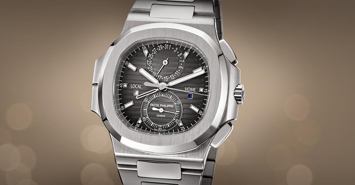 Nautilus Steel Travel Time Chronograph 5990/1A-001