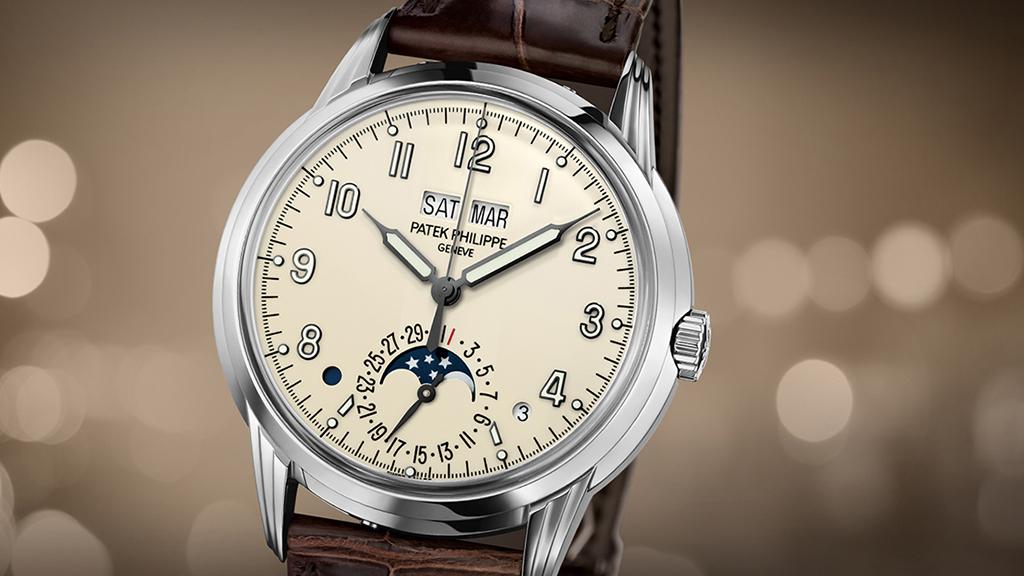 Patek Philippe   Gran Complicación de oro blanco con Calendario Perpetuo  5320G-001
