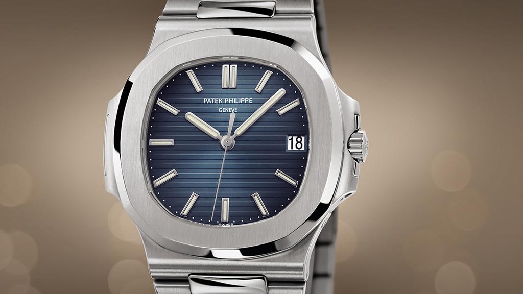 Patek Philippe Nautilus Automatic Black Blue Dial Watch 5711 1a 010